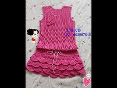 Crochet Patterns| for free |crochet baby dress| 1542