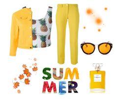 """(8) #summer #likeforlike #followforfollow"" by savirafianiesa on Polyvore featuring Peter Jensen, Versace and Elizabeth and James"