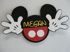 Disney Cruise/Parks Personalized Mickey Door by PartyPixieDust, $5.00