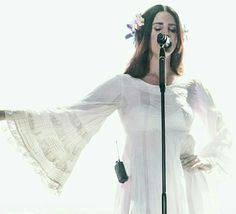 Lana Del Rey at Lollapalooza in Chicago #LDR