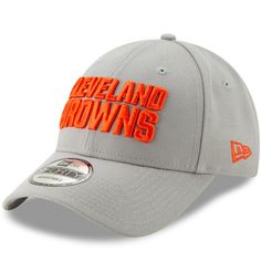 best loved ee0b6 ddb11 Men s Cleveland Browns New Era Gray Tempo 9FORTY Adjustable Snapback Hat,  Sale   17.99 - You Save   6.00