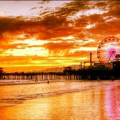 California: strolled out to the end of the Santa Monica Pier. Sea kayaked off of La Jolla,
