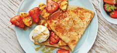 Crepes ja grillatut hedelmävartaat | Jälkiruoat | Reseptit | Reseptit ja menut | Stockmann.com