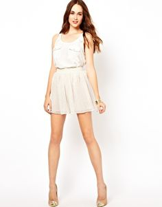 Under $20 Glamorous Spotty Skirt