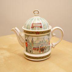 Sadler London Heritage Teapot made in England  door UKAmobile