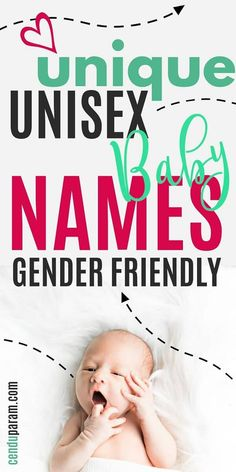 Unisex, Gender Neutral, Nonbinary Baby Names & Meanings – Cenzerely Yours - Check out these super cute unisex baby names if you need some baby name inspiration. These androgyn - Unique Unisex Names, Unisex Baby Names, Cute Baby Names, Baby Girl Names, Boy Names, Gaelic Baby Names, Irish Baby Names, Baby Names And Meanings, Names With Meaning