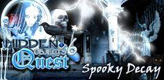 L'applicazione per Android gratuita di oggi è Hidden Objects Quest 6: Spooky Deca.