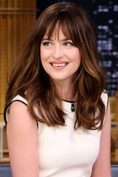 The Secret to Dakota Johnson's Nice-Girl-Sexy Lips (Hint: Not Lipstick)They really are perfect lips-My Opinion-not too puffy not too thin-Check close up;see if you agree