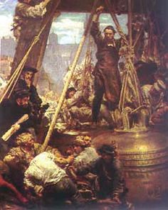 Sigismund Bell, painting by Jan Matejko