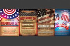 IndependenceMemorial Day Flyer Creativework  Th Of July