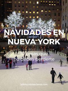 [LISTA] ¿Vas a pasar las Navidades en Nueva York? No te pierdas todo lo que puedes hacer ACTUALIZADO 2017.  #NuevaYork #NYC #Manhattan #NuevaYorkTurismo New York Winter, New York Photography, Nyc, Christmas Travel, Living In New York, Concrete Jungle, Never Stop Exploring, New York Travel, New York Times