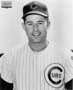 Ron Santo of the Chicago Cubs poses for a portrait Santo played for the Cubs from 19601973 Nationals Baseball, Chicago Cubs Baseball, Chicago Cubs History, Cubs Fan, Cubbies, I Love Dogs, Poses, Baseball Cards, Legends