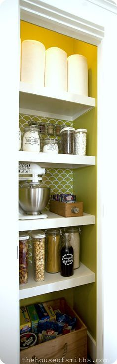 diy cute storage from The House of Smiths - Home DIY Blog - Interior Decorating Blog - Decorating on a Budget Blog