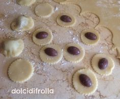 Pasta Frolla con ovetti
