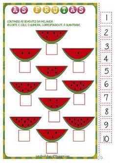Notebook da Profª: Projeto As Frutas - Contagem