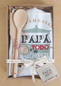 Lola Wonderful_Blog: Packs para amantes de la cocina, personalizados para el chef