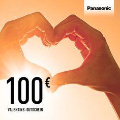 @PanasonicDeutschland Zum Valentinstag verlosen wir einen 100 € Gutschein für den Panasonic Online-Shop. Jetzt pinnen und mit etwas Glück gewinnen. #Valentinstag