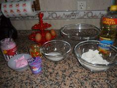Rececatas: Magdalenas o Muffins de nubes, esponjas, malvavisco... o para ser marquistas Magdalenas Fluff