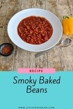Smoky Baked Beans – Slimming World Syn Free Recipe This recipe for smoky baked beans is full of flavour and great for all the family. Syn free on Slimming World it will fill you up and is easy to make! Slow Cooker Slimming World, Slimming World Diet, Slimming World Recipes, Other Recipes, Whole Food Recipes, Cooking Recipes, Healthy Recipes, Syn Free Sausages, Slow Cooker Recipes Family