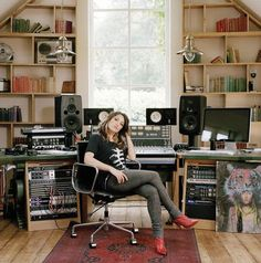 An awesome studio and kt tunstall for the price of one     Yes please!