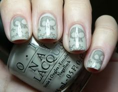 Let them have Polish!: O.P.I Pirates Week- Skull and Glossbones & Silver Shatter