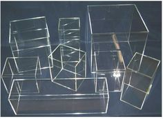 Acrylic Display Cases & Boxes