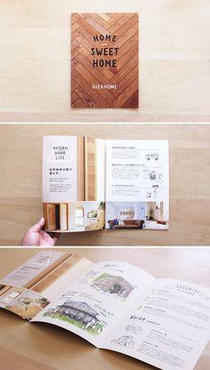 GIZA HOME ハウスメーカーの会社案内パンフレット - ALNICO DESIGN アルニコデザイン