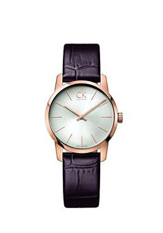Men's Wrist Watches - Calvin Klein Ladies City Rose Gold Leather Strap Watch >>> You can get more details by clicking on the image. Calvin Klein Models, Calvin Klein Women, Mens Watches Leather, Watches For Men, Wrist Watches, Women's Watches, Fashion Watches, Jewelry Watches, Vivienne Westwood