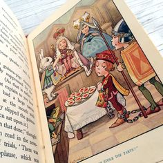 1920s Alice in Wonderland by Lewis Carroll by VintageCuriosityShop