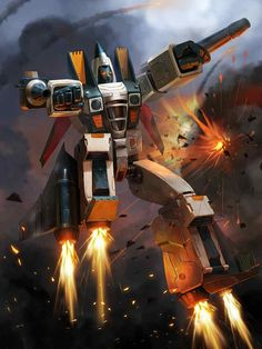 Decepticon Ramjet Artwork From Transformers Legends Game