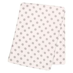 Baby Girl Trend Lab Printed Flannel Swaddle Blanket, Grey