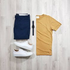 Simple casual outfit for you by . Rate this outfit 1 to 10 . Mens Casual Dress Outfits, Simple Casual Outfits, Stylish Mens Outfits, Men Casual, Casual Chic, Stylish Clothes, Summer Outfits, Casual Attire, Retro Mode