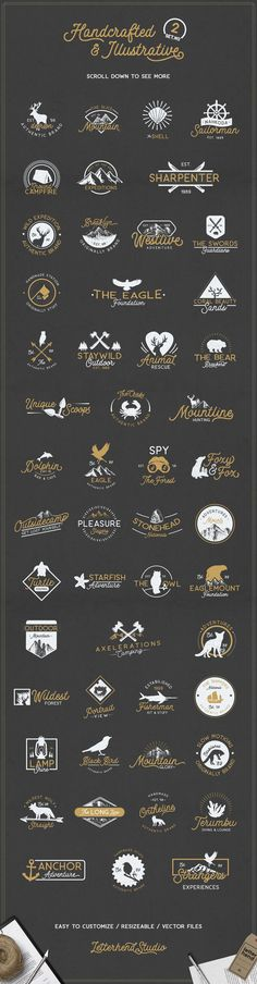 [Ad] FREE Adventure Logo Bundle by letterhend on @creativemarket - https://crmrkt.com/jykDdO - Tap the link to shop on our official online store! You can also join our affiliate and/or rewards programs for FREE!