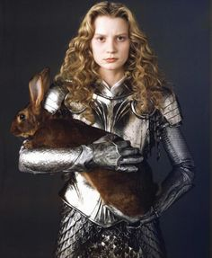 "Practical Female Armor Mia Wasikowski as Alice from Tim Burton's ""Alice in Wonderland"""