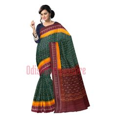Beautiful #Sambalpuri sarees available online. Buy now: http://www.odishasareestore.com/handloom/oss7519-sambalpuri-designer-cotton-sarees-online/p-5405372-97781390257-cat.html#variant_id=5405372-97781390257