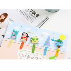 My Bookmate Bookmarks - Bon Voyage
