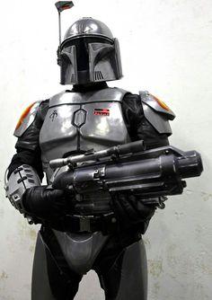 Blackout Star Wars Fett, Star Wars Rpg, Star Wars Rebels, Mandalorian Costume, Mandalorian Armor, Boba Fett Armor, Star Wars Planets, Star Wars Bounty Hunter, Star Wars Costumes