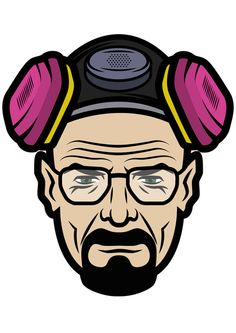 Walter White (Breaking Bad) Art Print by Saminatorhu