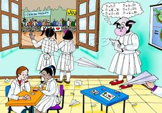 LÁPIZ Y PAPEL: La vaca estudiosa Family Guy, Fictional Characters, Read And Write, Cow, Short Stories, Fantasy Characters, Griffins
