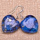 Metaphysical Gifts, Cards, Wrap and Crystals | Life Is A Gift Shop - Lapis Lazuli AAA Quality Heart Drop Earrings on Silver Hooks for Clarity and Brilliance While You Work, $24.00 (http://lifeisagiftshop.com/lapis-lazuli-aaa-quality-heart-drop-earrings-on-silver-hooks-for-clarity-and-brilliance-while-you-work/)