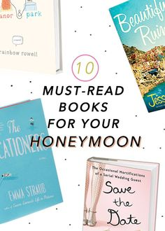 What you should read when you're not doing other #honeymoon things   Brides.com