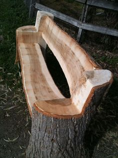 garden bench made from a tree trunk is so simple - trunk ., A garden bench made from a tree trunk is so simple - trunk ., A garden bench made from a tree trunk is so simple - trunk . Rustic Furniture, Garden Furniture, Furniture Ideas, Antique Furniture, Outdoor Furniture, Trunk Furniture, Furniture Stores, Furniture Makeover, Western Furniture