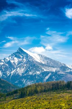 Krivan Mountain Peak in Slovakia Free Stock Photo Stock Photo Sites, Free Stock Photos, Destinations, Forest Girl, Horse Photos, Best Sites, Nature Photos, Free Images, Beautiful Pictures