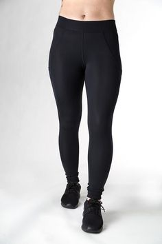 01687277262 You can never have too many black leggings and these supportive compression  tights feature an external