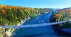 Ontario's Most Scenic Suspension Bridge Reopens This Spring 2018 featured image