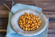 Spiced Roasted Chickpeas Recipes - honey optional.  For more crispy: after roasting, turn off oven but leave in for extra 15 mins as oven cools
