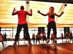 Aerobic class