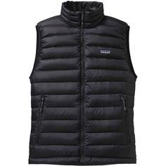 Patagonia Down Sweater Vest Black