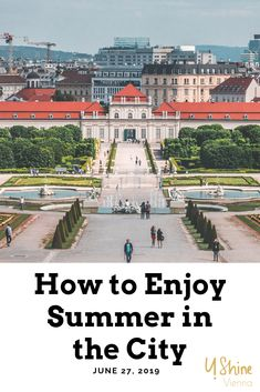 How to enjoy Vienna during the hot summer months? We have some ideas for you! Morning Sunrise, Enjoy Summer, Summer Months, Vienna, Paris Skyline, City, Travel, Ideas, Viajes