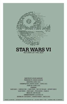 Star Wars: Return of the Jedi - movie poster - Christian Petersen